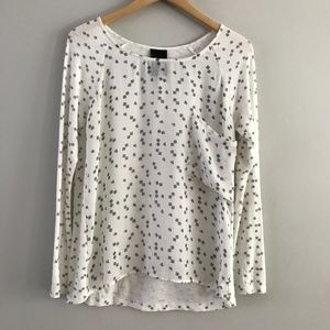 Anthropologie Dolan T-Shirt Pocket Long Sleeve Tee